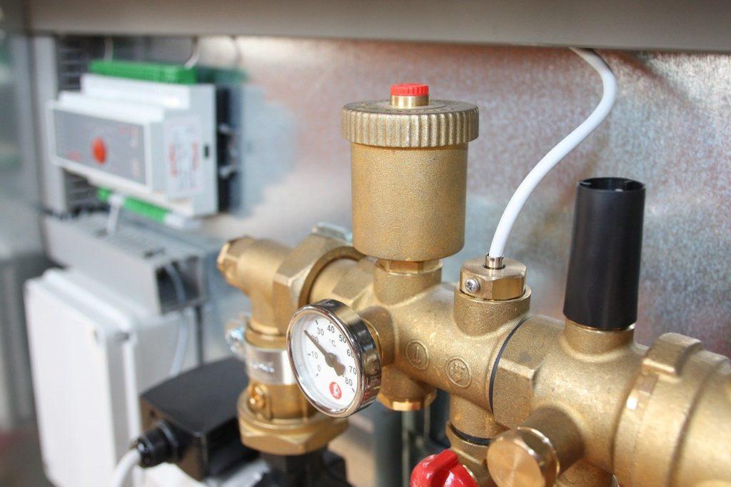 valve, brass, heating